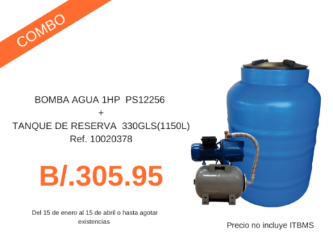 Combo Tanque 1150 L